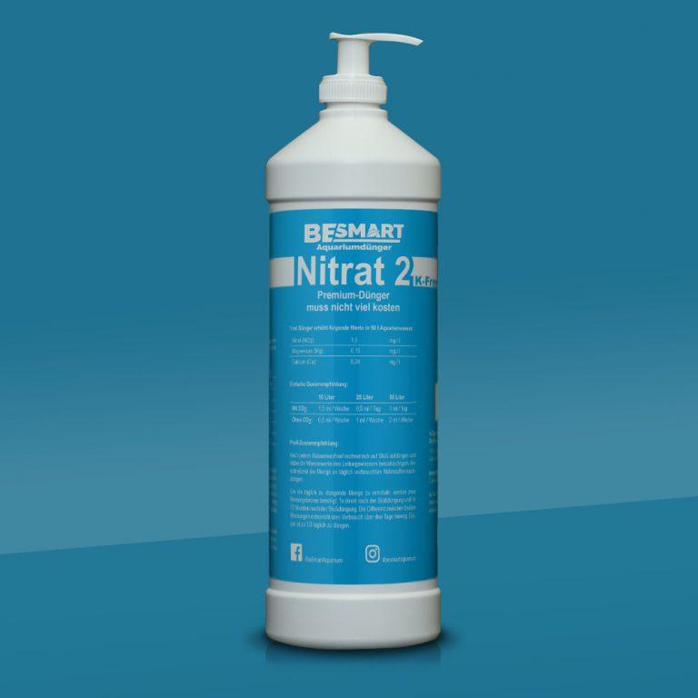 Nitrat2 K-Free Aquariumdünger - 1.000 ml inkl. Dosierpumpe