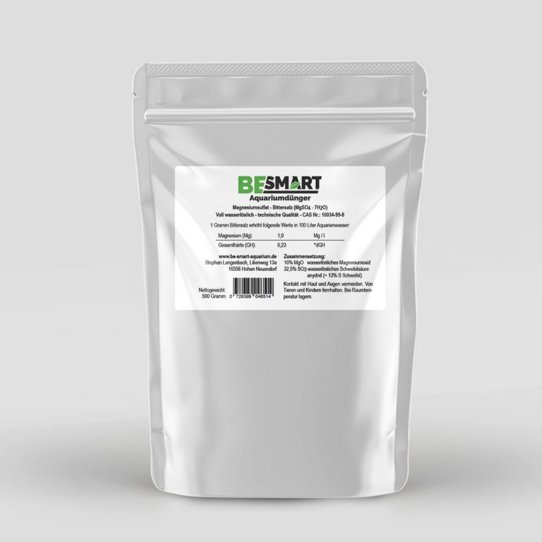 Magnesiumsulfat / Bittersalz 500 gr Pack